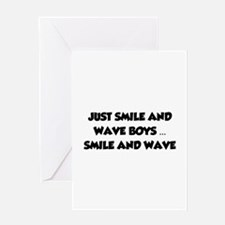 Smile and Wave Greeting Card