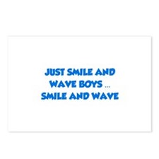 Smile and Wave Postcards (Package of 8)