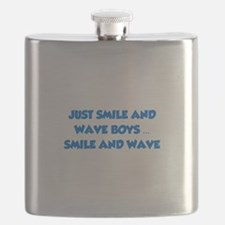 Smile and Wave Flask