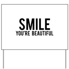 Smile Yard Sign