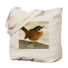 Carolina Wren Tote Bag