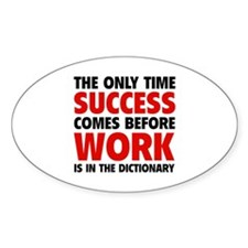 Succes Work Decal