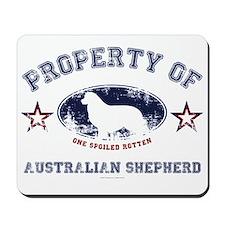 Australian Shepherd Mousepad