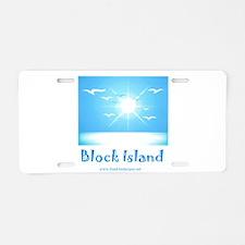 block island.jpg Aluminum License Plate