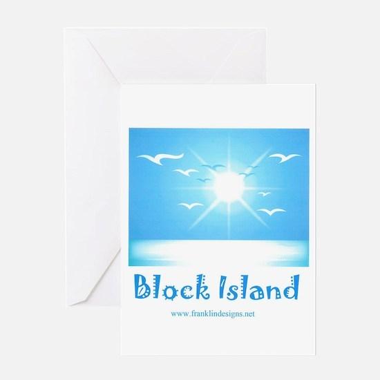 block island.jpg Greeting Card