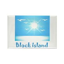 block island.jpg Rectangle Magnet