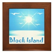 block island.jpg Framed Tile