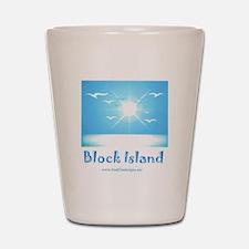 block island.jpg Shot Glass