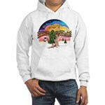 XM2-German Shephard #1 Hooded Sweatshirt