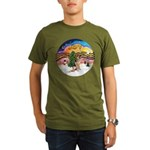 XM2-German Shephard #1 Organic Men's T-Shirt (dark