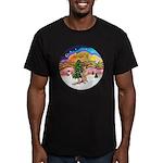 XM2-German Shephard #1 Men's Fitted T-Shirt (dark)