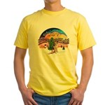 XM2-German Shephard #1 Yellow T-Shirt