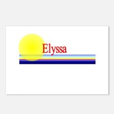 Elyssa Postcards (Package of 8)