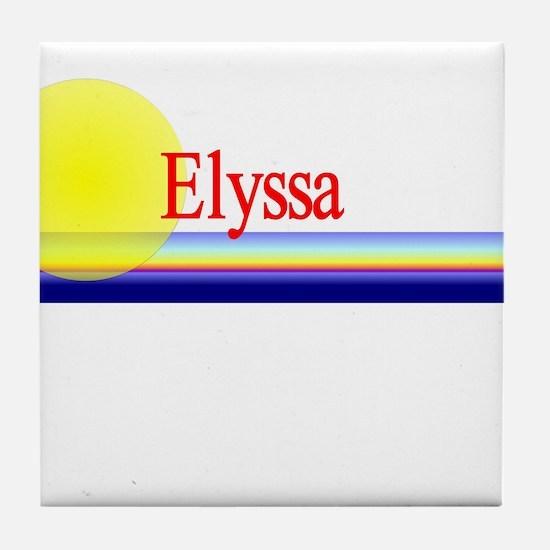 Elyssa Tile Coaster