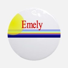 Emely Ornament (Round)