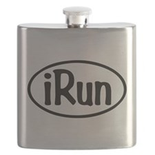 iRun Oval Flask