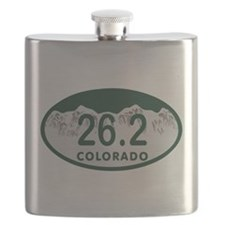26.2 Colo License Plate Flask