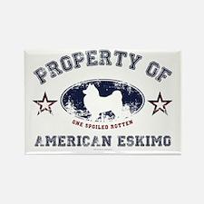American Eskimo Rectangle Magnet