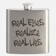 Real Eyes Flask
