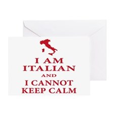 italian pride Greeting Card