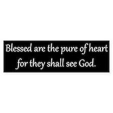 Pure of Heart, White on Black, Beatitudes