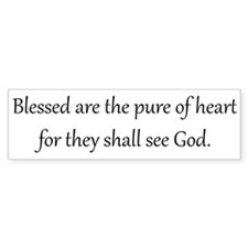 Pure of Heart, Black on White, Beatitudes