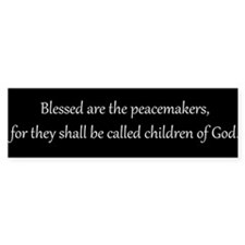 Peacemakers, White on Black, Beatitudes