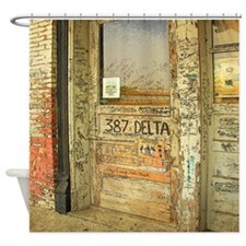Ground Zero Blues Club Delta Shower Curtain