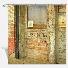 Ground Zero Blues Club Delta Shower Curtain