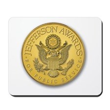 Jefferson Award Medal Mousepad