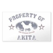 Akita Decal