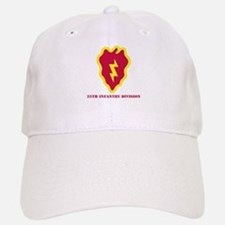 SSI - 25th Infantry Division with Text Baseball Baseball Cap