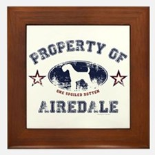Airedale Framed Tile