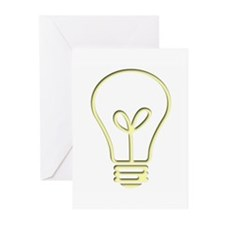 The Pale Bulb Greeting Cards (Pk of 10)