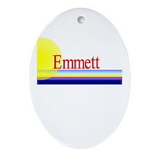 Emmett Oval Ornament