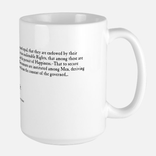 Jefferson Mug - Declaration of Independence