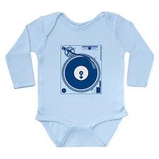 Male Turntable Long Sleeve Infant Bodysuit