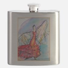 Flamenco dancer, art! Flask
