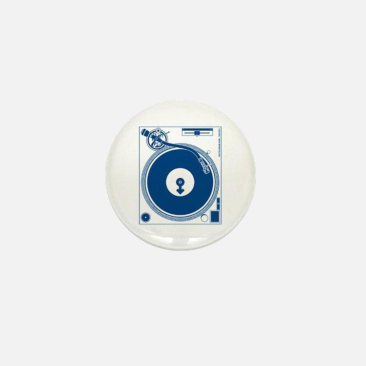 Male Turntable Mini Button