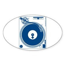 Male Turntable Decal