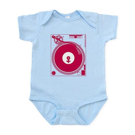 Female Turntable Infant Bodysuit