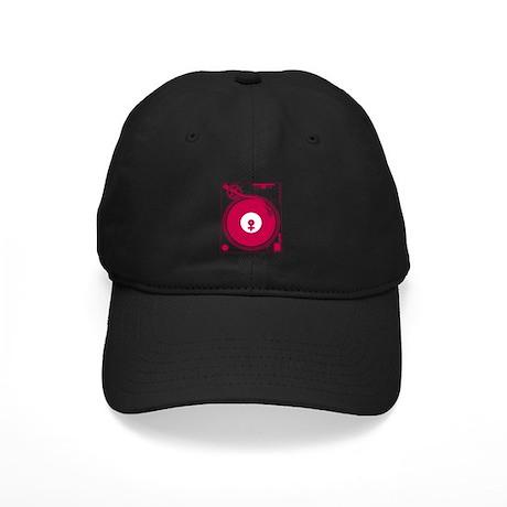 Female Turntable Black Cap