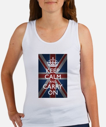 Keep Calm And Carry On Women's Tank Top