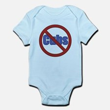 No Cubs Infant Bodysuit