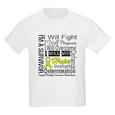 Ewing Sarcoma Persevere T-Shirt