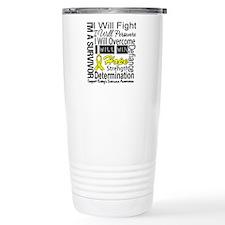 Ewing Sarcoma Persevere Travel Mug