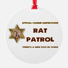 RAT PATROL Ornament