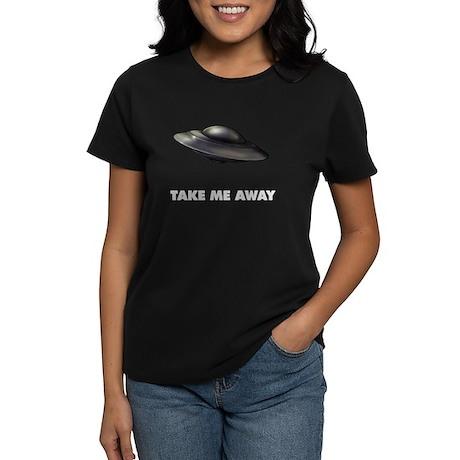 Flying Saucer Women's Dark T-Shirt