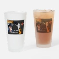 Country Music Outlaw Drinking Glass
