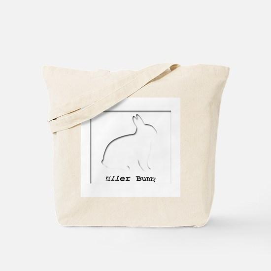 Killer Bunny Tote Bag